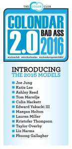 2015-02_Colondar 2016 Models Announcement