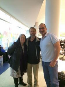 2015-02_Julia-Tom-Chris_JFK Meetup