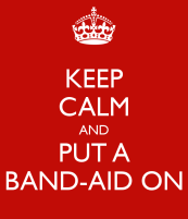 Running for Health and For a Great Cause_keep-calm-and-put-a-band-aid-on