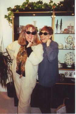 1999_Mom and Kathye after Pancreatic Cancer Diagnosis
