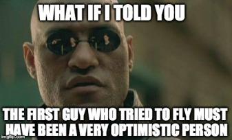 Optomist Meme