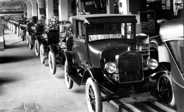 Model T Production Line