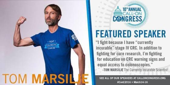 2016 Call on Congress_Tom Marsilje Featured Speaker
