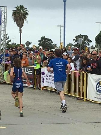 Team Triathlon - United Behind a Cure Run