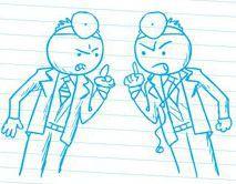 Doctos arguing