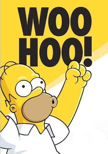 Homer Simpson Woo-Hoo