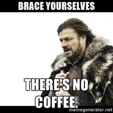 No Coffee Meme