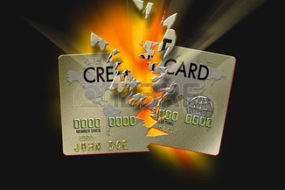 Credit Card Exploding